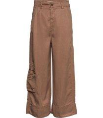 tender pants wijde broek bruin odd molly