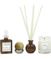 aroma43 beach driftwood 4-piece luxury fragrance set