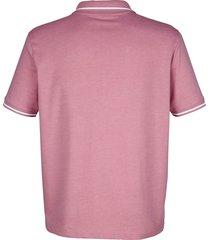 tröja med krage och marint tryck roger kent rosa