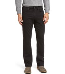 men's 34 heritage charisma relaxed fit jeans, size 33 x 30 - black