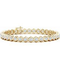 natori indochine diamond tennis bracelet, women's