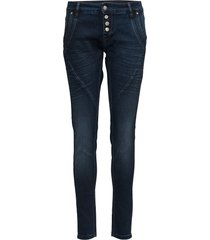 baiily power stretch jeans skinny jeans blå cream