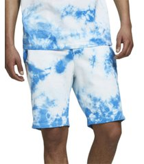 jack & jones men's tie dye drawstring shorts