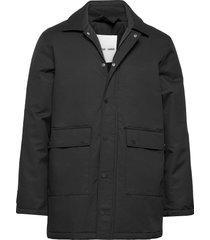 ursan jacket 11234 trenchcoat lange jas zwart samsøe samsøe