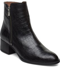 g-5104 shoes boots ankle boots ankle boots with heel svart wonders