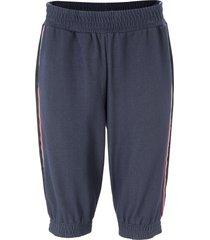 bermuda in maglina effetto jeans (blu) - john baner jeanswear
