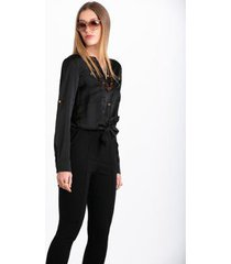 camisa wool line bolso feminina
