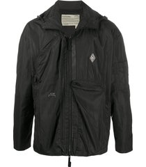 a-cold-wall* multi-pocket lightweight jacket - black
