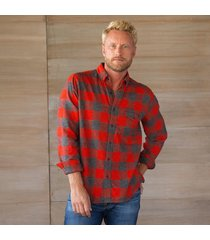twisted flannel shirt