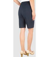 mjuka shorts med midjeresår dress in marinblå