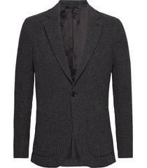 m. dean knit look jacket blazer colbert grijs filippa k