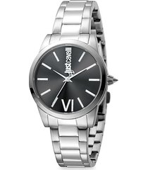 relaxed velvet stainless steel bracelet watch