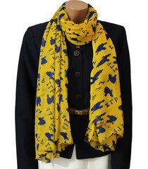 sigma gamma rho inspired oversized poodle scarf (36x72 inches)