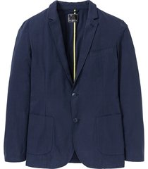 giacca elegante corta slim fit (blu) - rainbow