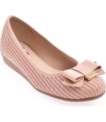priceshoes baleta confort dama 022m5230-444-18655rosado