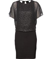 dresses light woven korte jurk zwart esprit casual