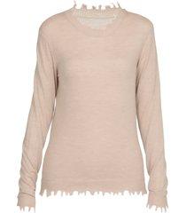 uma wang sweater with fringes