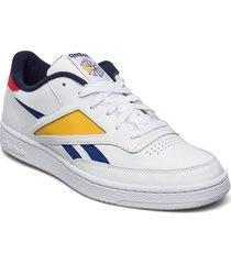 club c revenge mark låga sneakers vit reebok classics