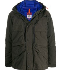 parajumpers hooded padded jacket - grey