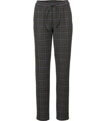 pantalone boyfriend in tessuto effetto lana (grigio) - rainbow