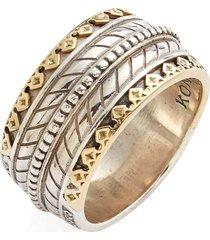 men's konstantino 'orpheus' carved band ring