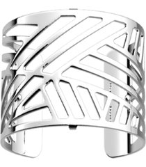 les georgettes by altesse geometric openwork wide adjustable cuff bracelet