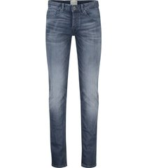 cast iron jeans cope tapered grijs