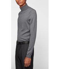 boss men's musso turtleneck sweater