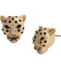 jessica simpson cheetah post earrings