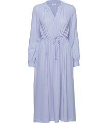 athena dress jurk knielengte blauw filippa k