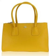 borsa a mano e tracolla j&c jackyceline b317-01 025 giallo