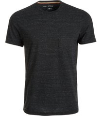 sun + stone men's drew contrast chain stitch t-shirt, created for macy's