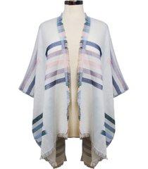 marcus adler striped shawl