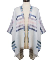 marcus adler striped shawl