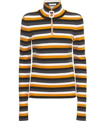 j.w. anderson yellow viscose blend sweater