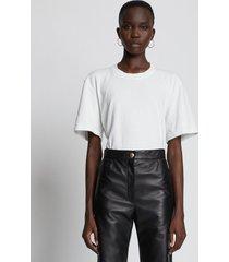 proenza schouler eco cotton t-shirt white xl
