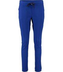 broek helen travel pants kobalt blauw