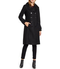 women's kenneth cole new york wool blend military coat