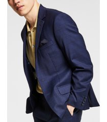 bar iii men's skinny-fit plaid suit jacket, created for macy's