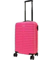 maleta dura chicago s rosado abs head