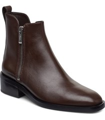 alexa - 40mm boot shoes boots ankle boots ankle boots flat heel brun 3.1 phillip lim