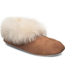 annelie slippers tofflor brun shepherd
