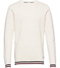 signature knit sweat-shirt trui wit lindbergh