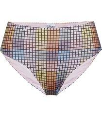 highrise bikini briefs bikinitrosa multi/mönstrad ganni