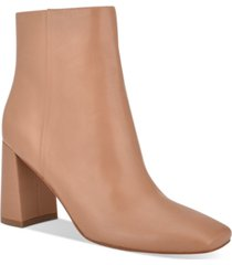 marc fisher fellie square-toe booties women's shoes