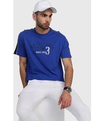camiseta azul royal-blanco us polo assn