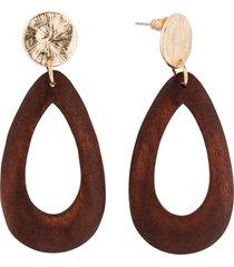 orecchini a lobo (marrone) - bpc bonprix collection