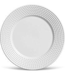 conjunto 6pçs prato raso 26cm olimpia branco