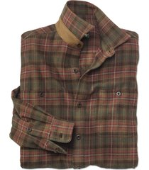 the perfect flannel shirt / regular, rust plaid, large