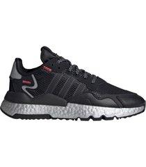 zapatilla negra adidas originals nite jogger